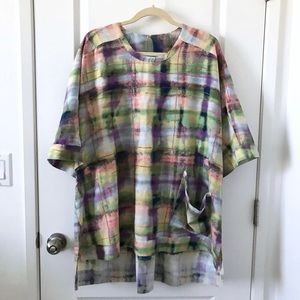 Melissa McCarthy Tunic Top Blouse Size 3X Seven7